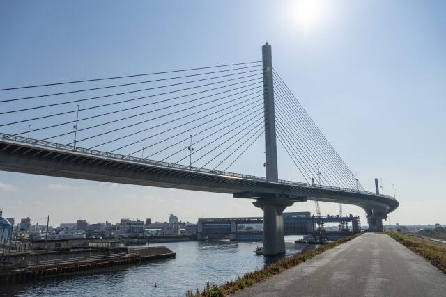 葛飾区にある橋