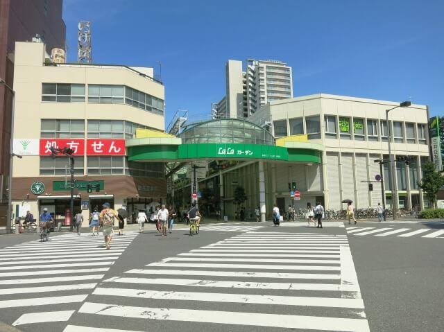 東京都北区赤羽駅周辺