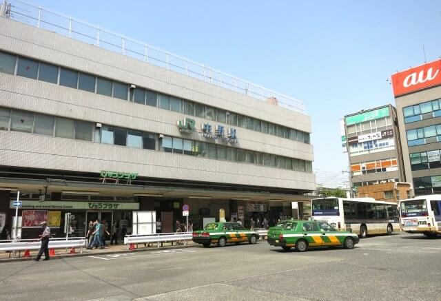 東京都中野区の中野駅周辺