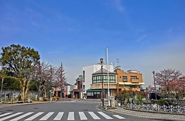 大田区の交差点