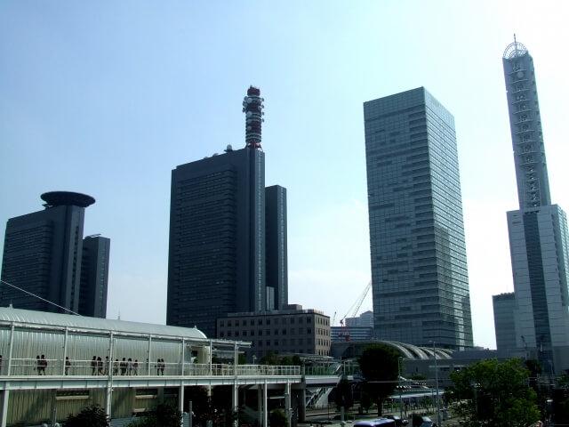 さいたま市のビル群