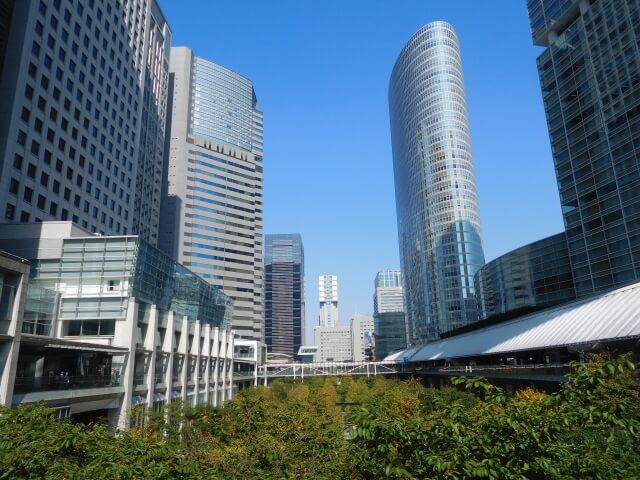 品川駅前の景観