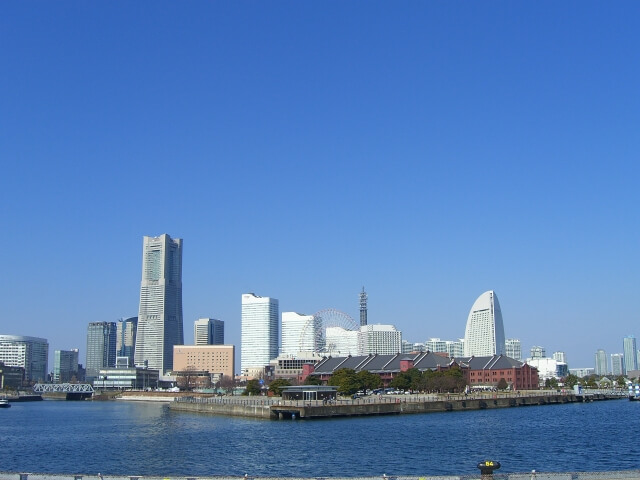 神奈川県横浜市にある港