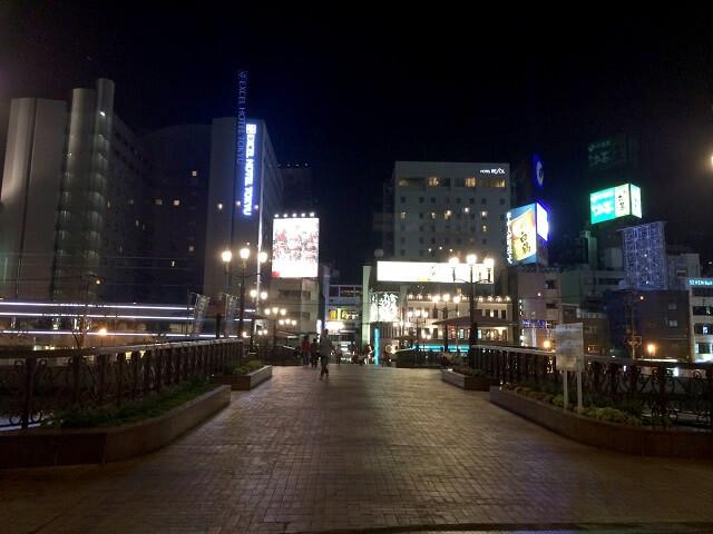 福岡県福岡市の夜の町