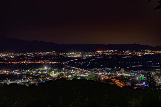 久留米市の夜景
