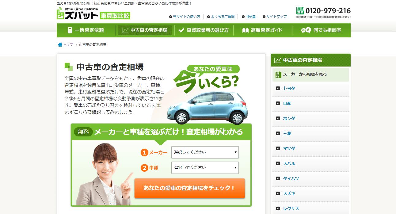 ズバット車買取公式サイト