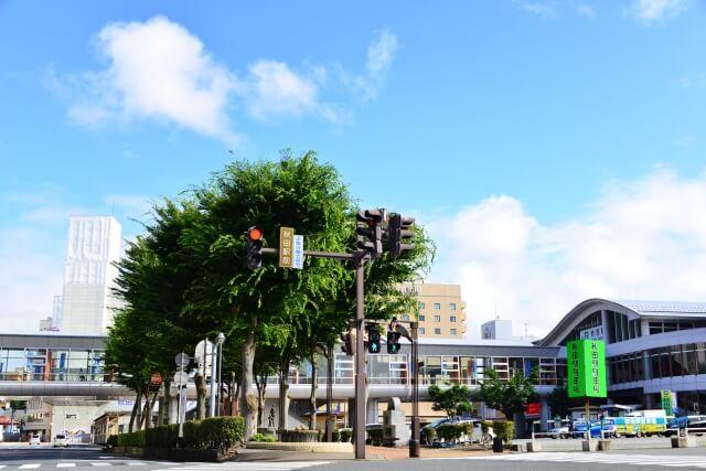 秋田市にある駅