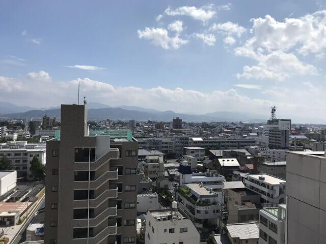 愛媛県松山市の町並み