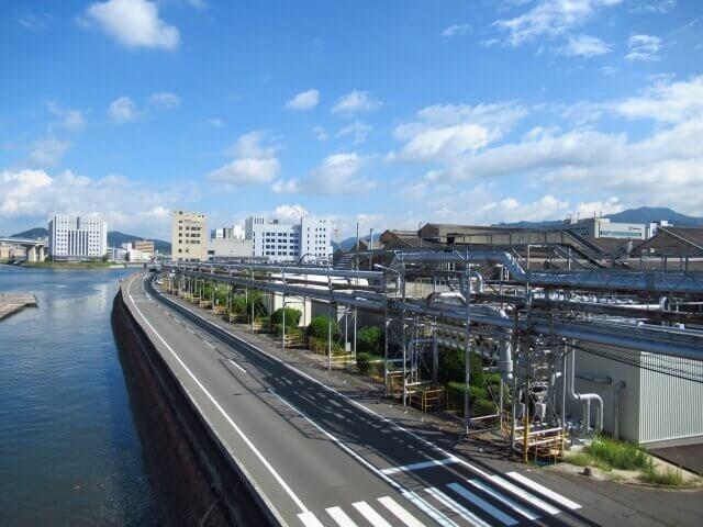 広島市の町並み