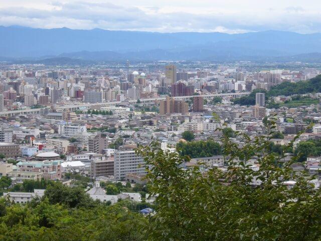 熊本市の町並み
